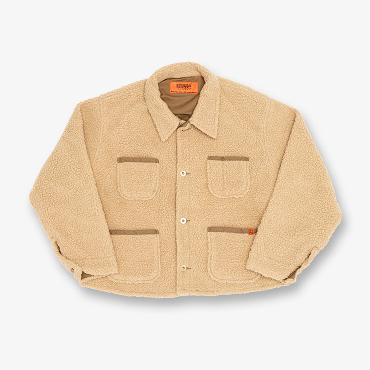 BOA SHORT COVERALL BEIGE