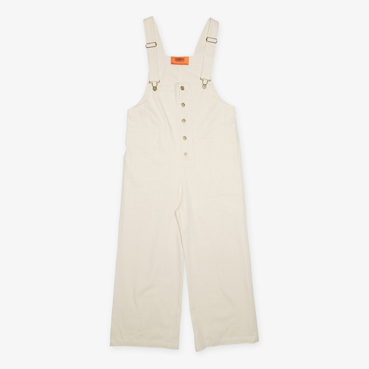 HERRINGBONE BASIC OVERALL NATURAL
