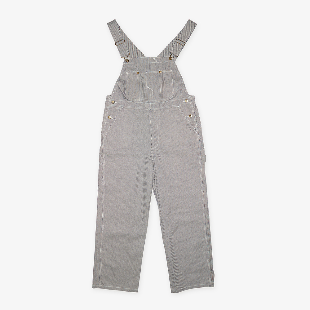 HICKORY OVERALL MENS NAVY X WHITE