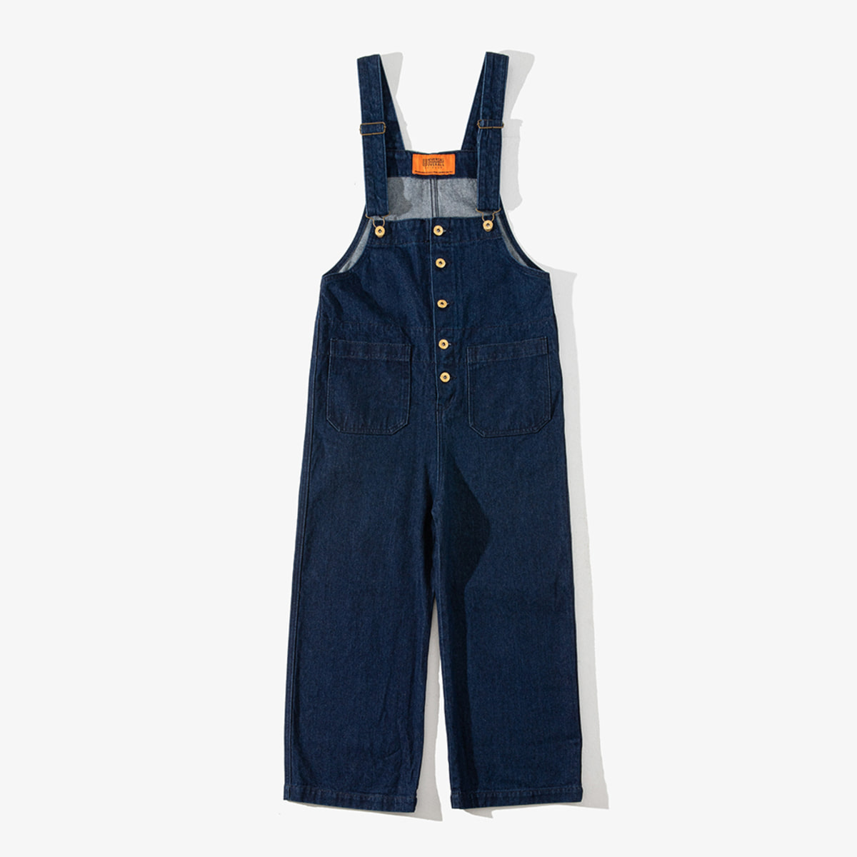 WOMENS DENIM BASIC OVERALL INDIGO