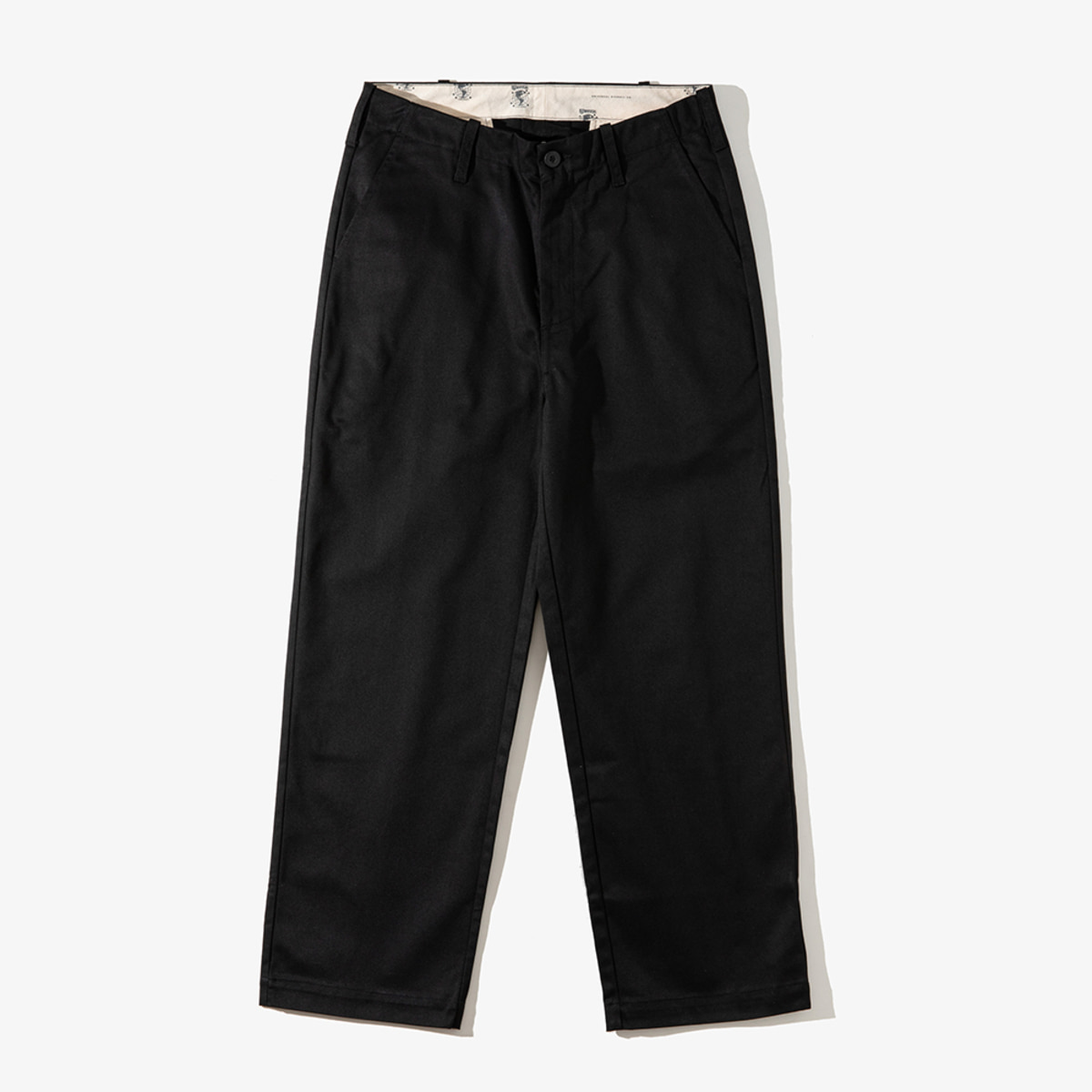 [T-04] WIDE PANTS BLACK