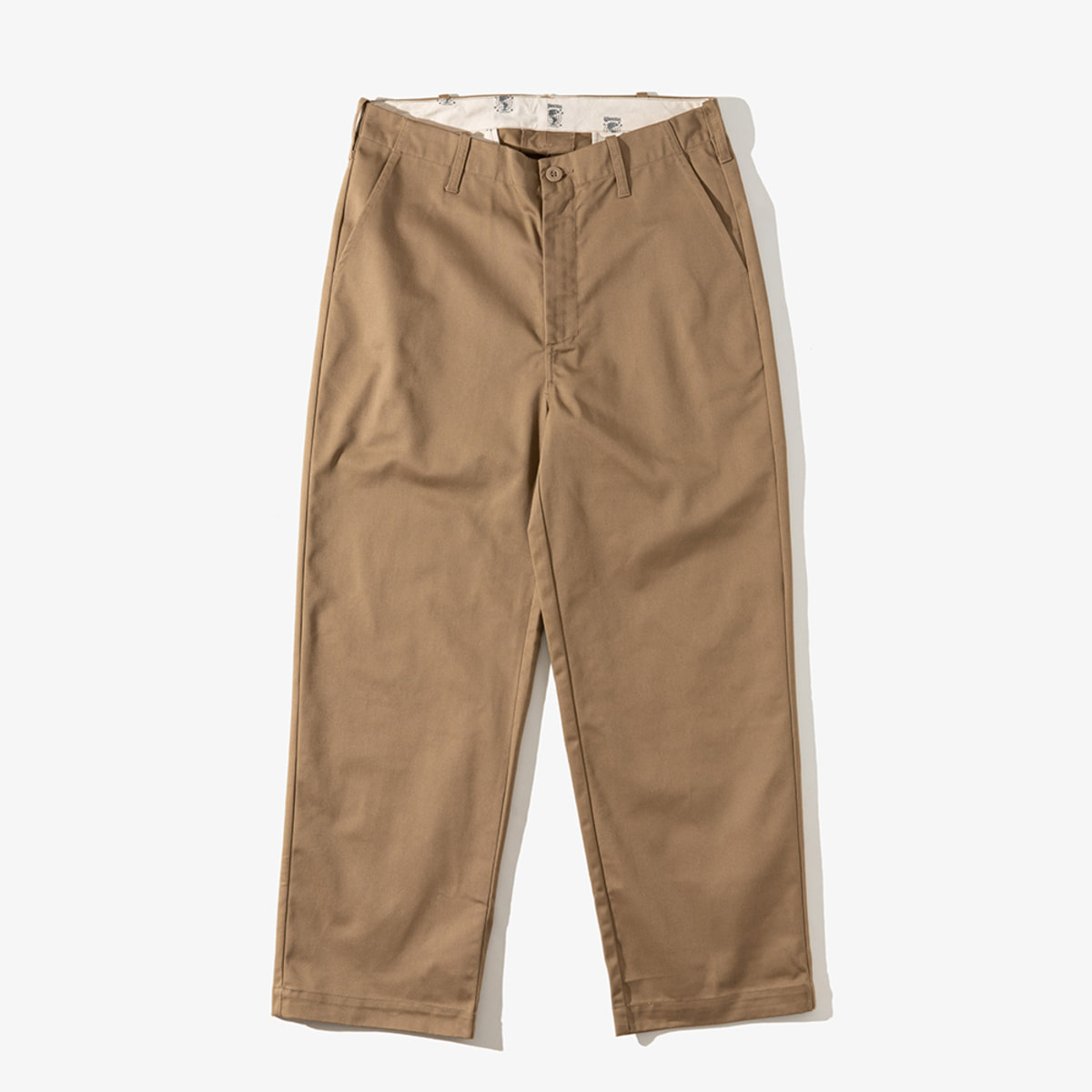 [T-04] WIDE PANTS BEIGE