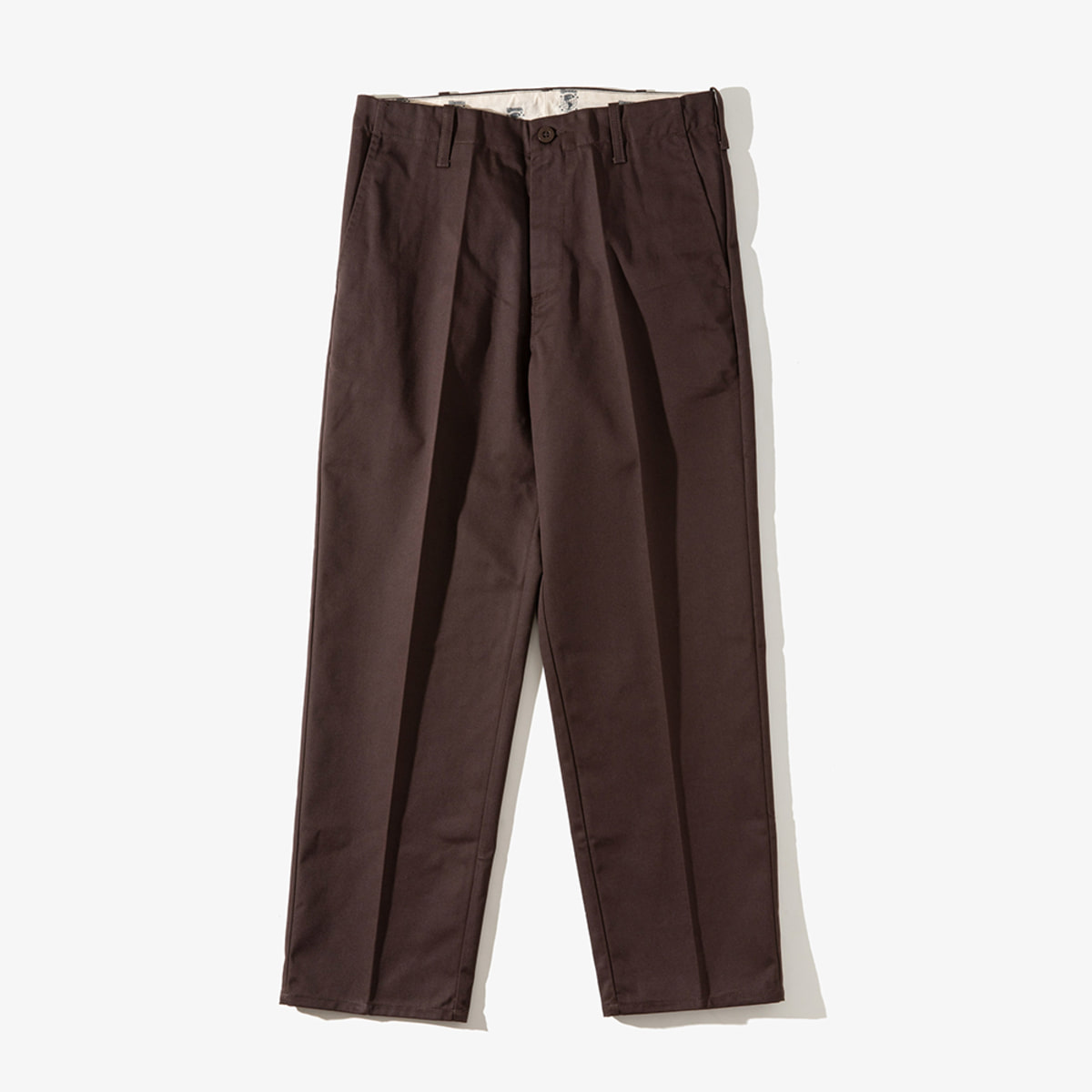 [T-03] STANDARD PANTS DARK BROWN