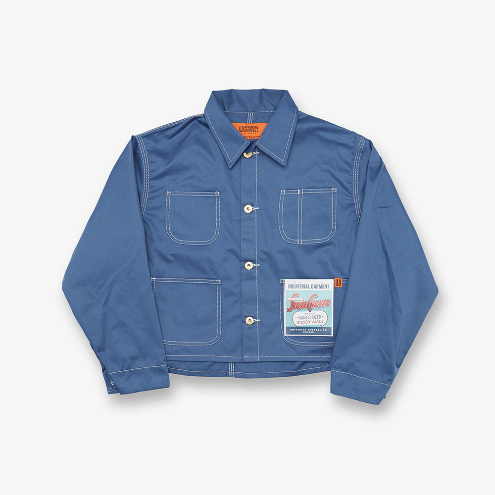 SHORT COVERALL BLUE