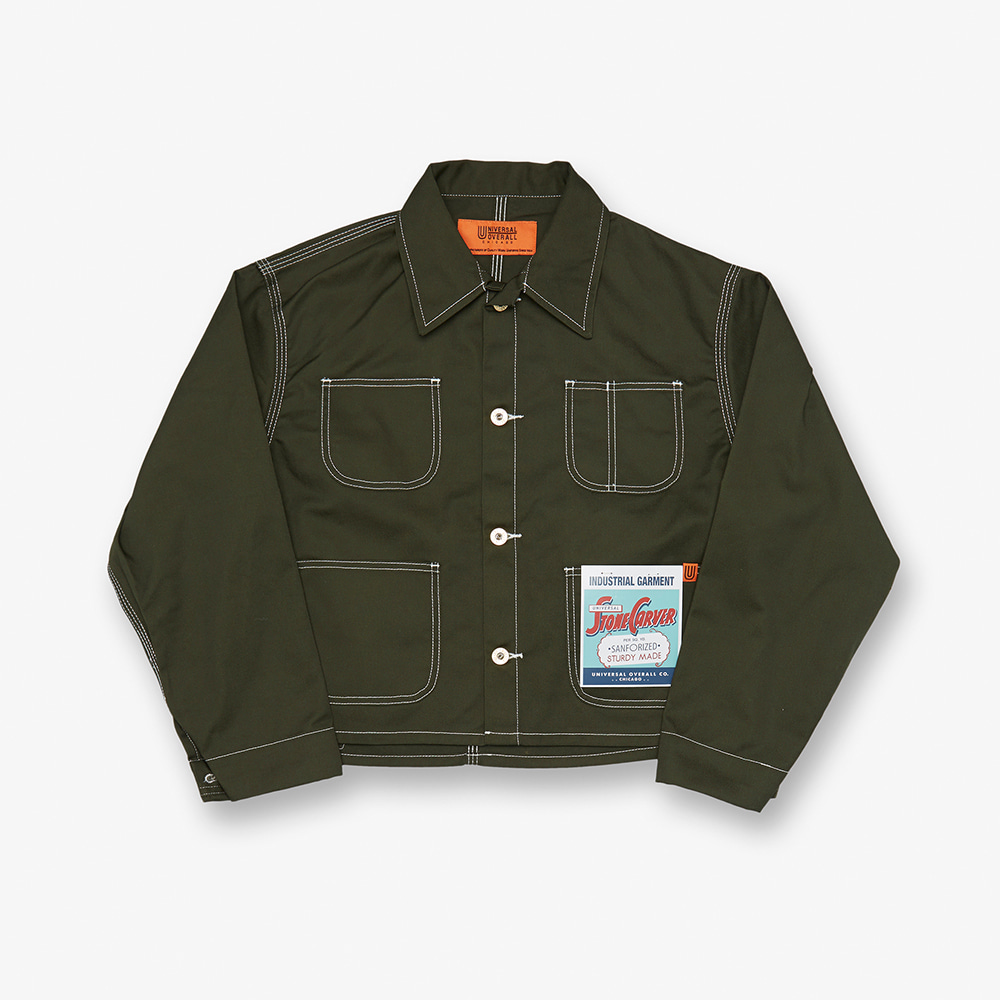 SHORT COVERALL KHAKI